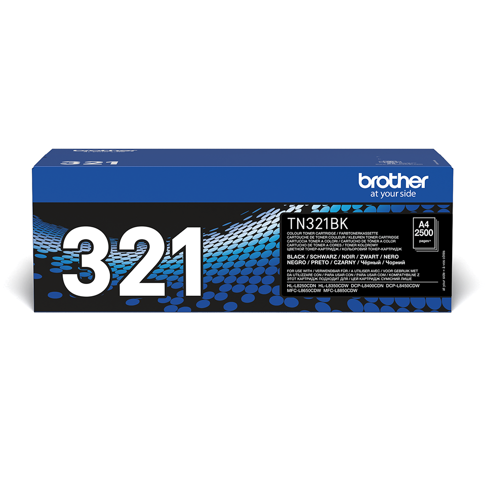 Cartouche de toner TN-321BK Brother originale – Noir