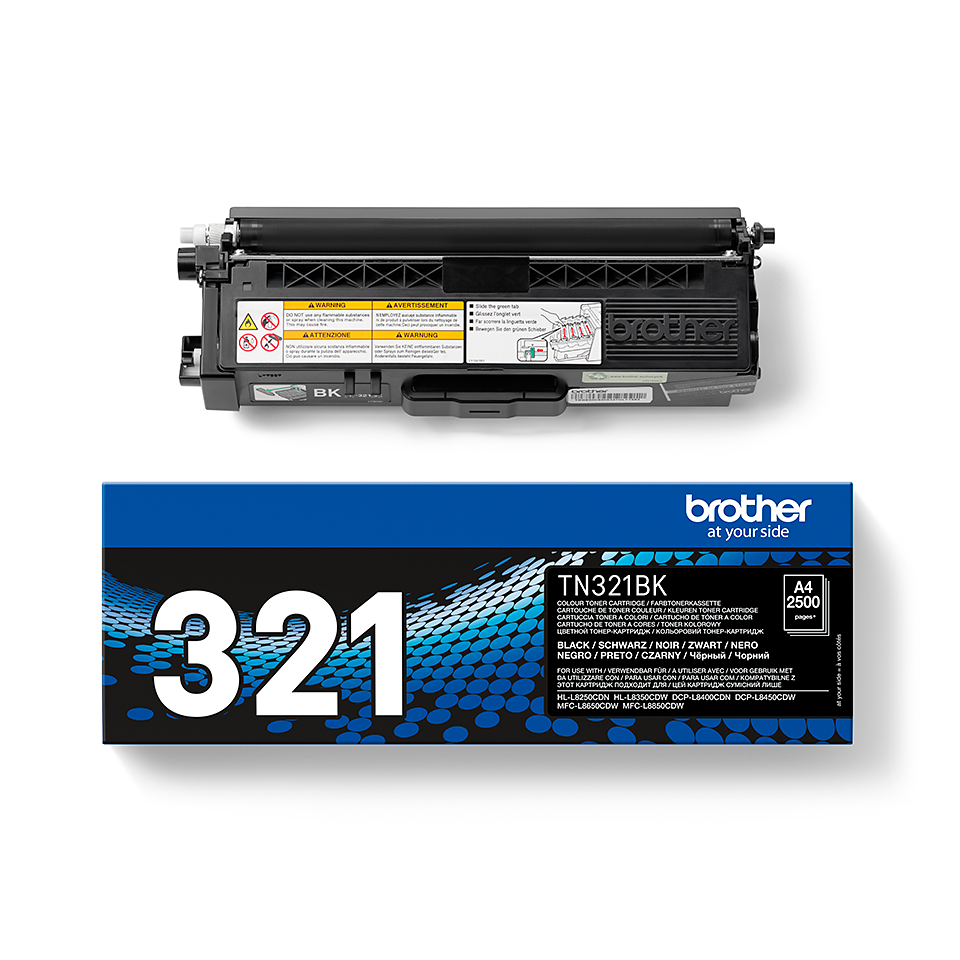 Cartouche de toner TN-321BK Brother originale – Noir  2