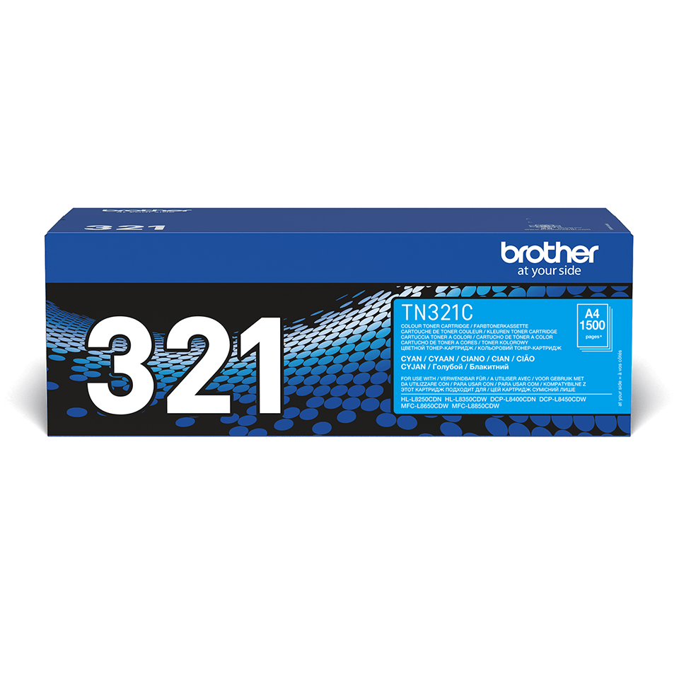 Cartouche de toner TN-321C Brother originale – Cyan 2