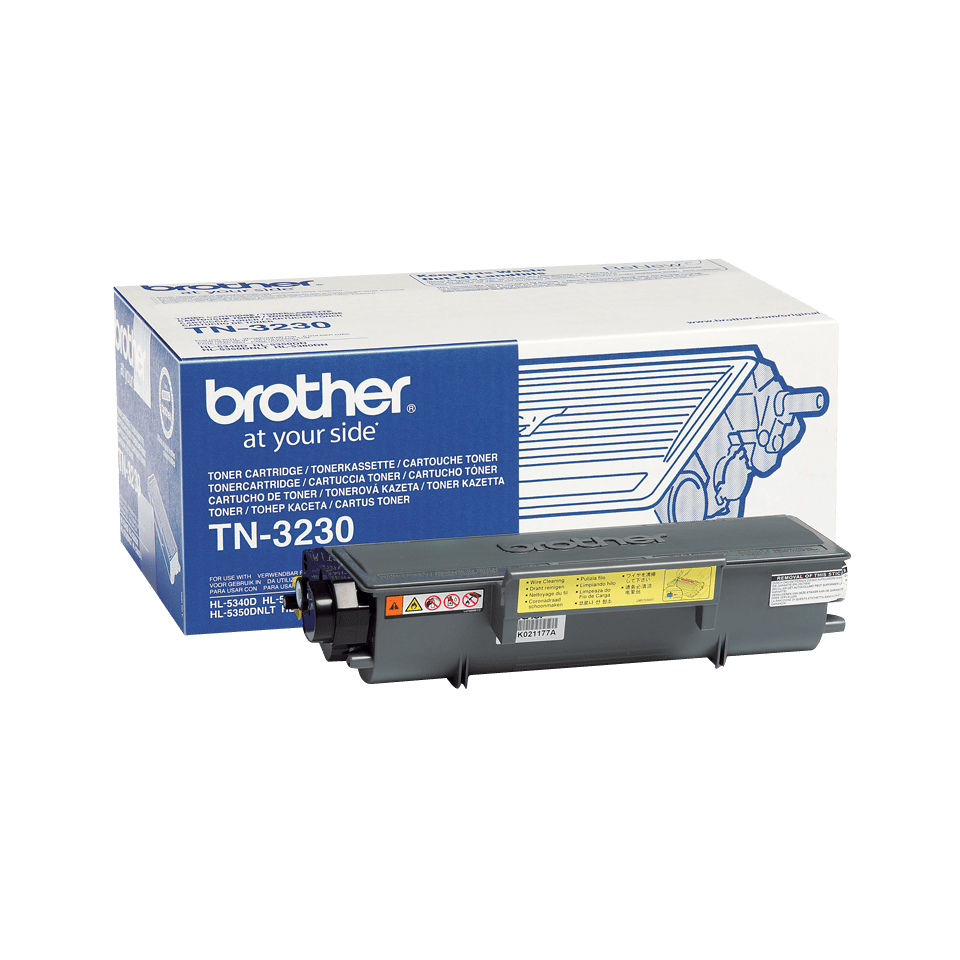 Cartouche de toner TN-3230 Brother originale – Noir
