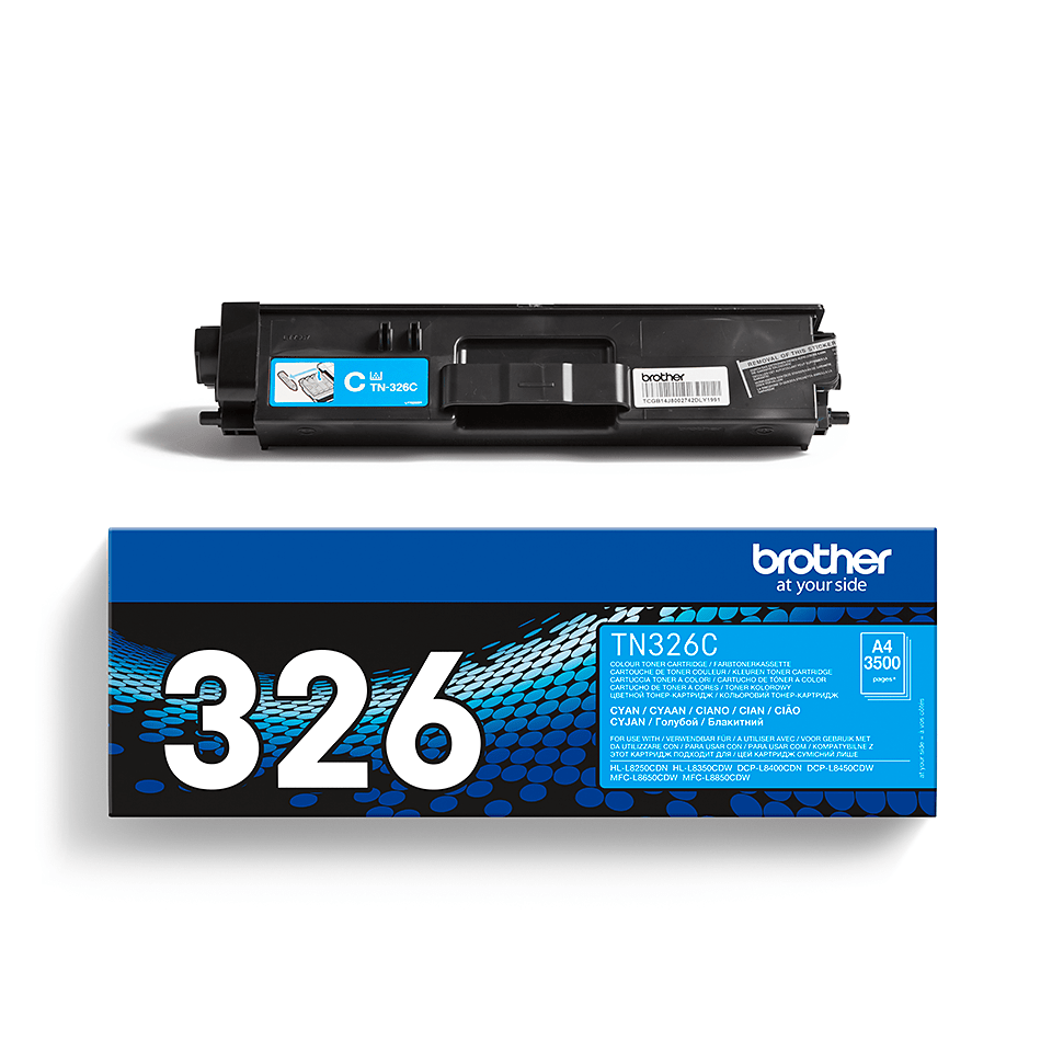 Cartouche de toner TN-326C Brother originale – Cyan 2