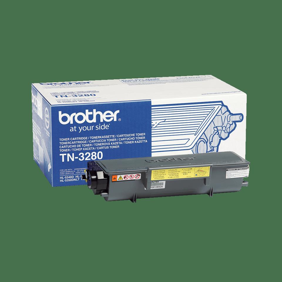Cartouche de toner TN-3280 Brother originale à haut rendement – Noir
