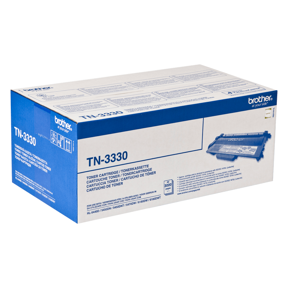 Cartouche de toner TN-3330 Brother originale – Noir