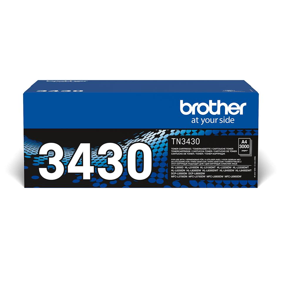 Cartouche de toner TN-3430 Brother originale – Noir 0