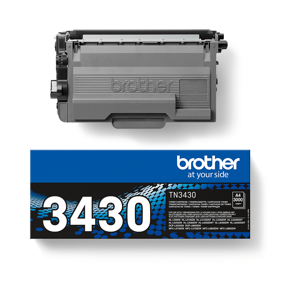 Cartouche de toner TN-3430 Brother originale – Noir 2