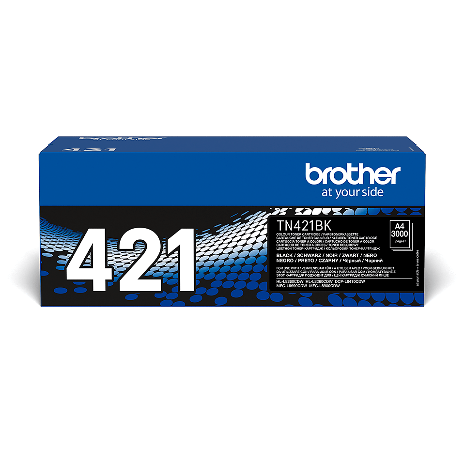 Cartouche de toner TN-421BK Brother originale – Noir