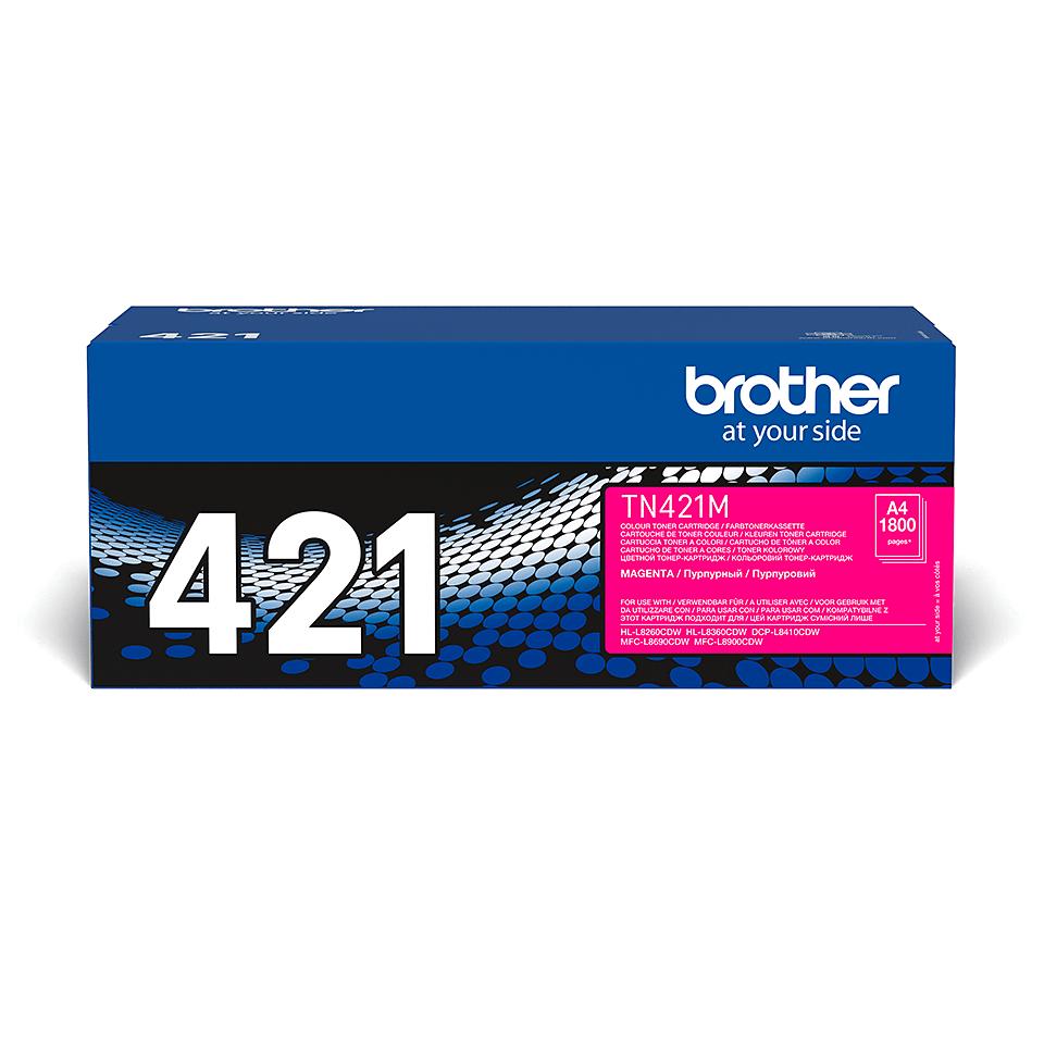 Cartouche de toner TN-421M Brother originale – Magenta 2