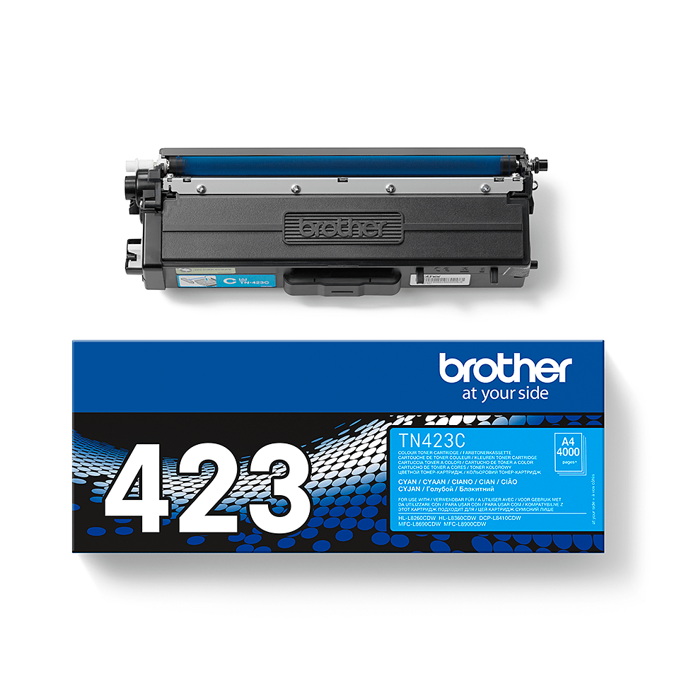 Cartouche de toner TN-423C Brother originale – Cyan 2