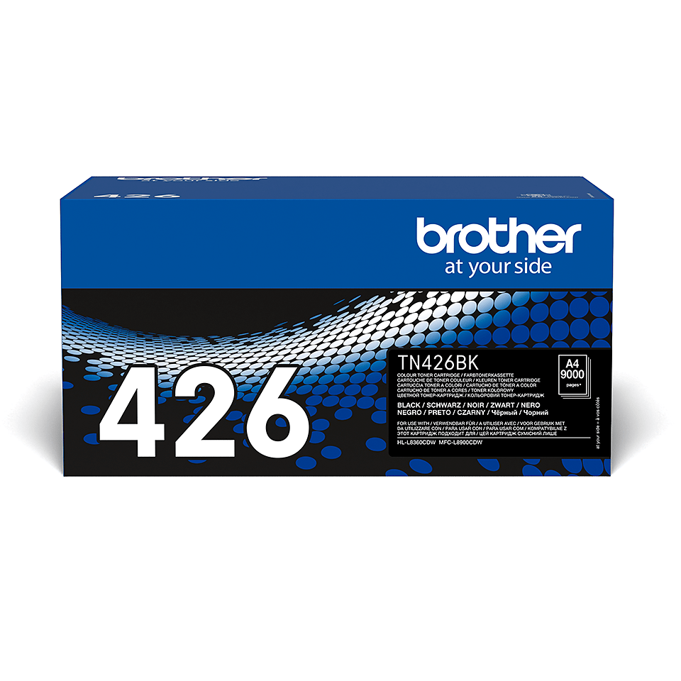 Cartouche de toner TN-426BK Brother originale – Noir 2