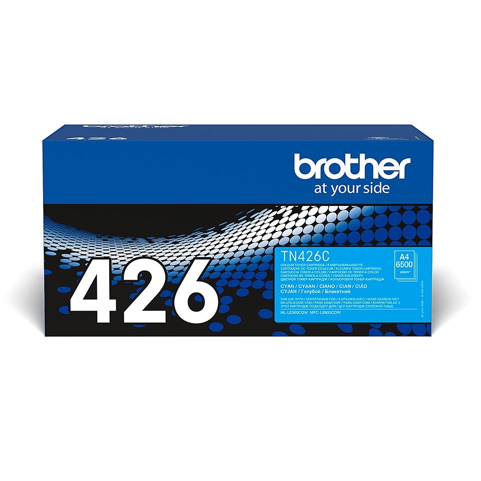 Cartouche de toner TN-426C Brother originale – Cyan 2