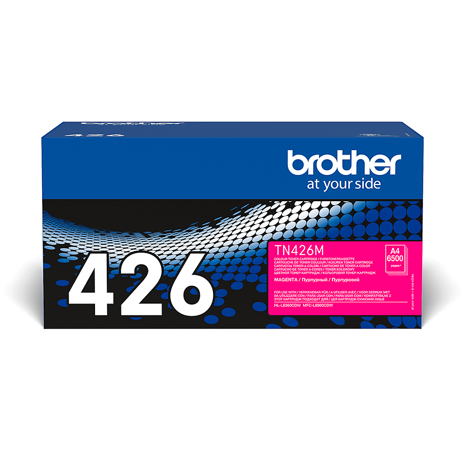 Cartouche de toner TN-426M Brother originale – Magenta 1