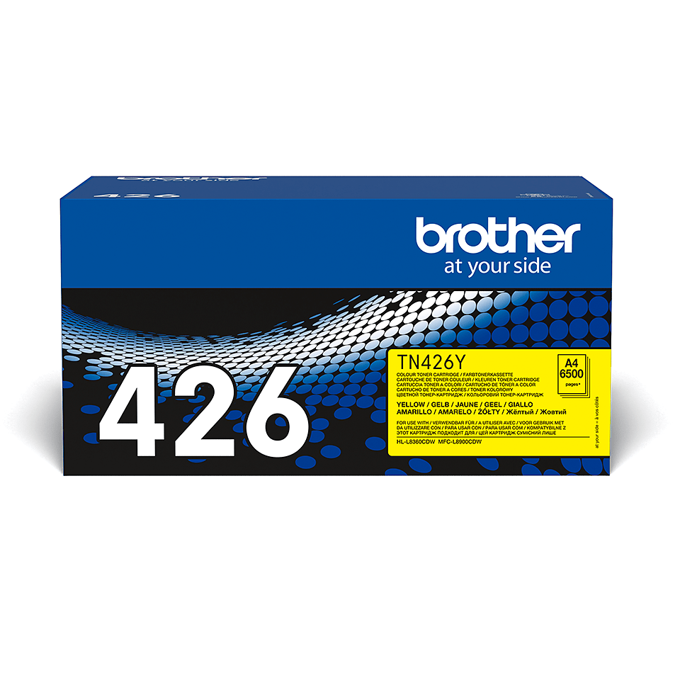Cartouche de toner TN-426Y Brother originale – Jaune