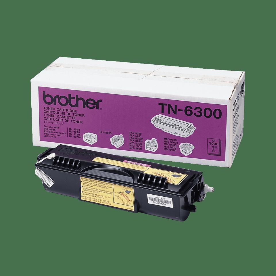 Cartouche de toner TN-6300 Brother originale à haut rendement – Noir