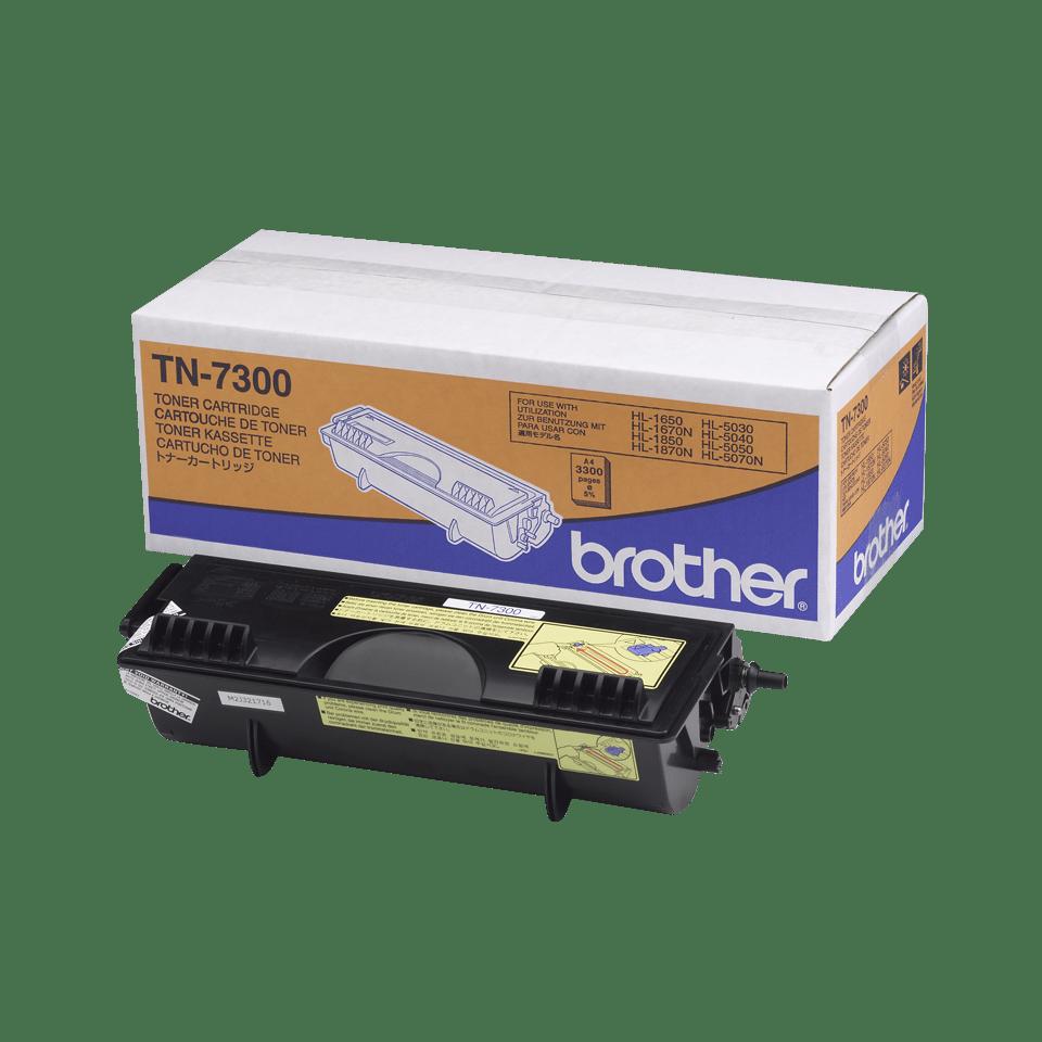 Cartouche de toner TN-7300 Brother originale à haut rendement – Noir