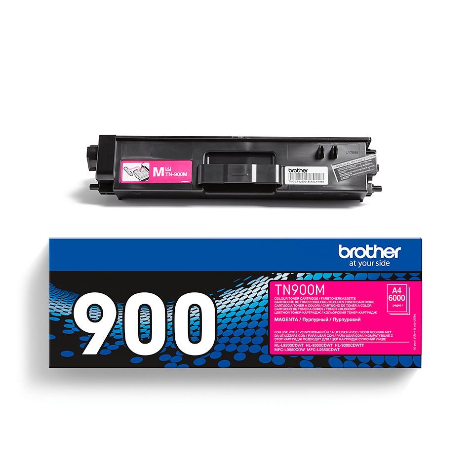Cartouche de toner TN-900M Brother originale – Magenta 2