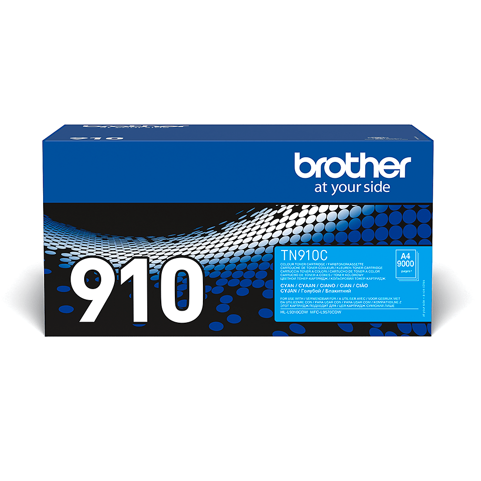 Cartouche de toner TN-910C Brother originale – Cyan 0