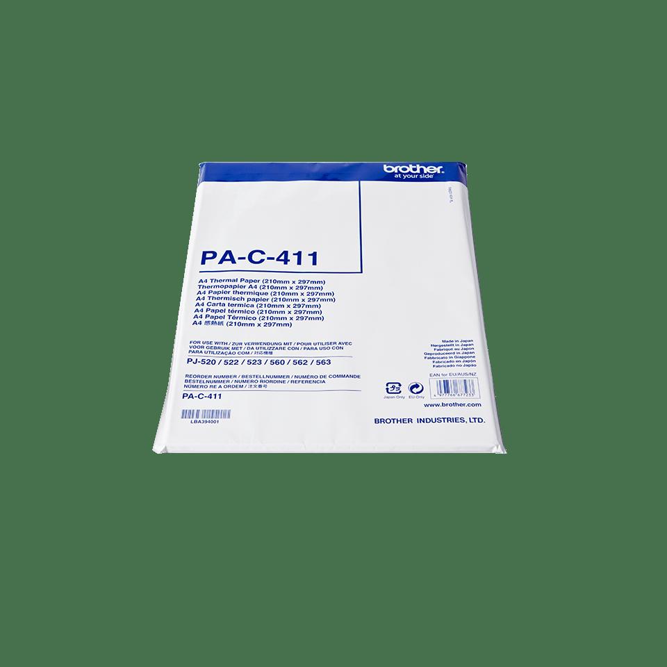 PAC411, papier thermique original