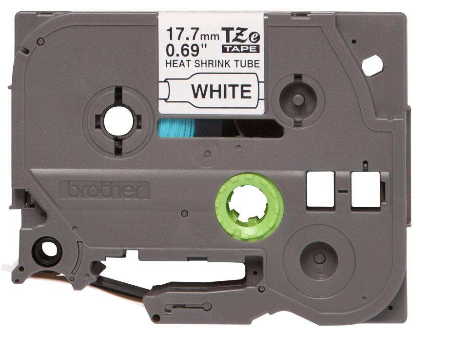 Cartouche pour gaine thermorétractable HSe-241 Brother originale – Noir sur blanc, 17,7mm de large 0