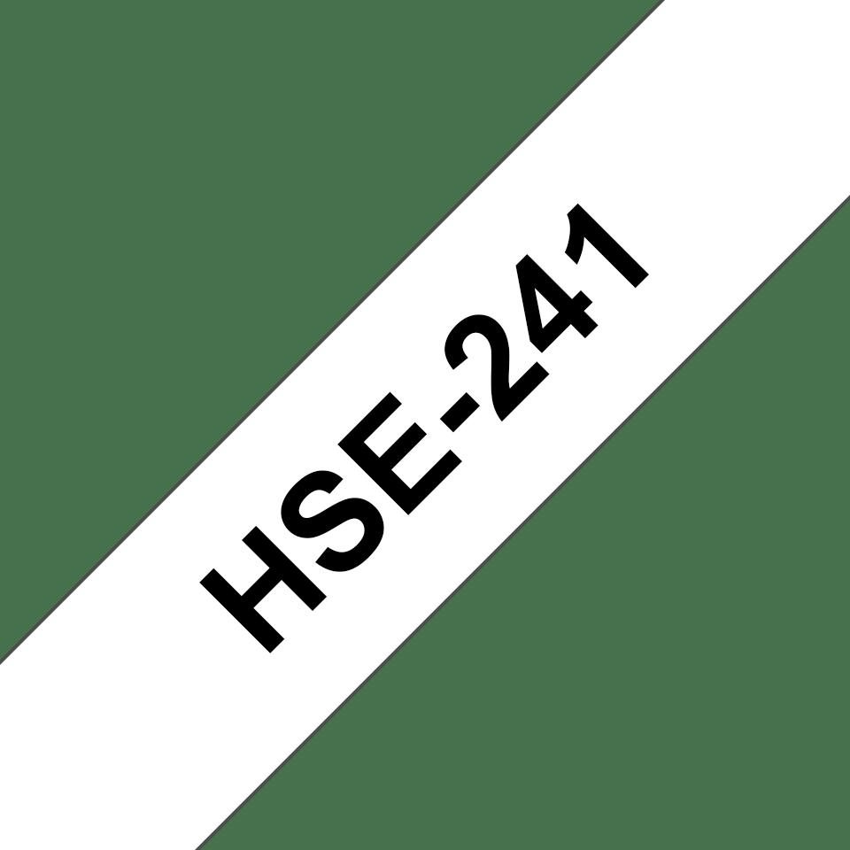Cartouche pour gaine thermorétractable HSe-241 Brother originale – Noir sur blanc, 17,7mm de large 3