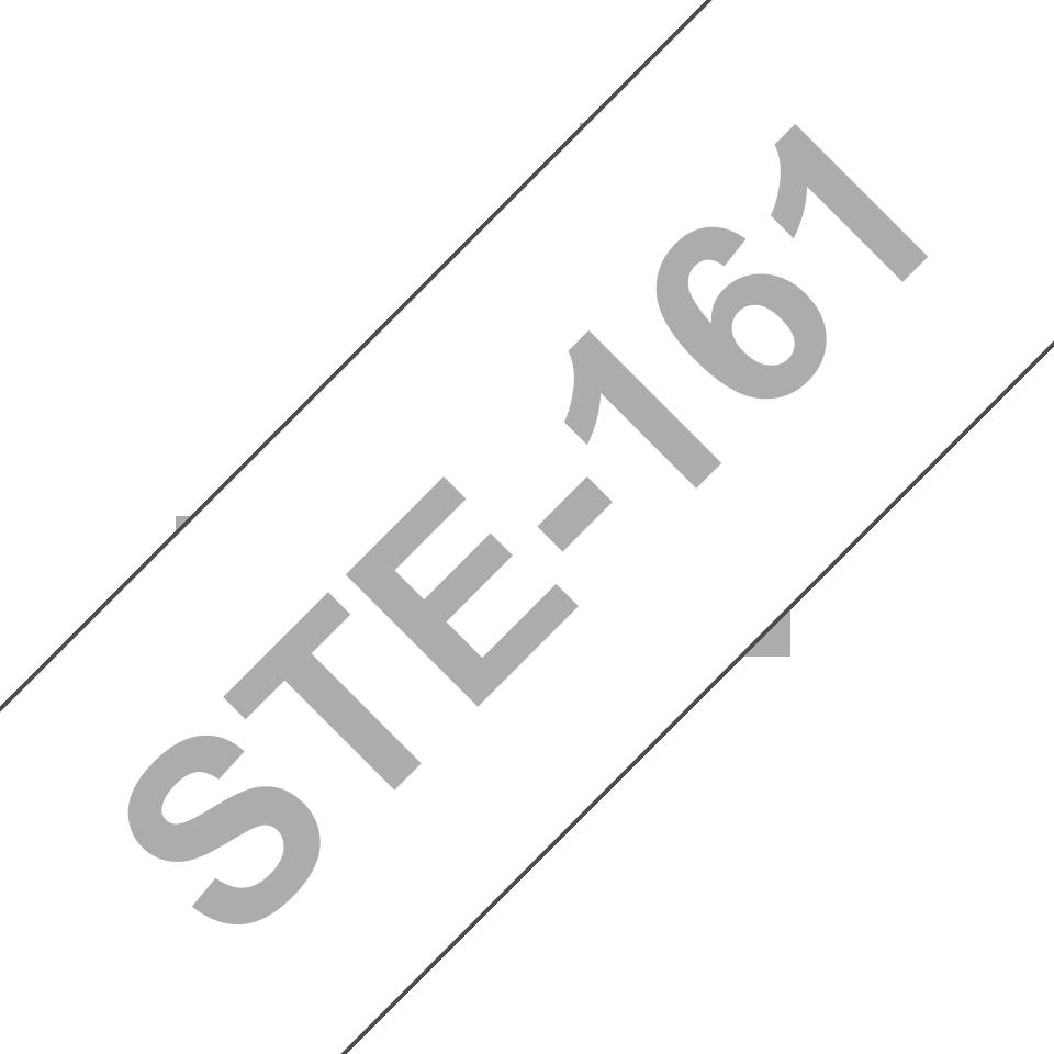 Cassette à ruban pochoir pour étiqueteuse STe-161 Brother originale – Noir, 36mm de large 3