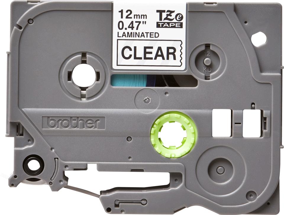 Ruban pour étiqueteuse TZe-131 Brother original – Transparent, 12mm de large 2
