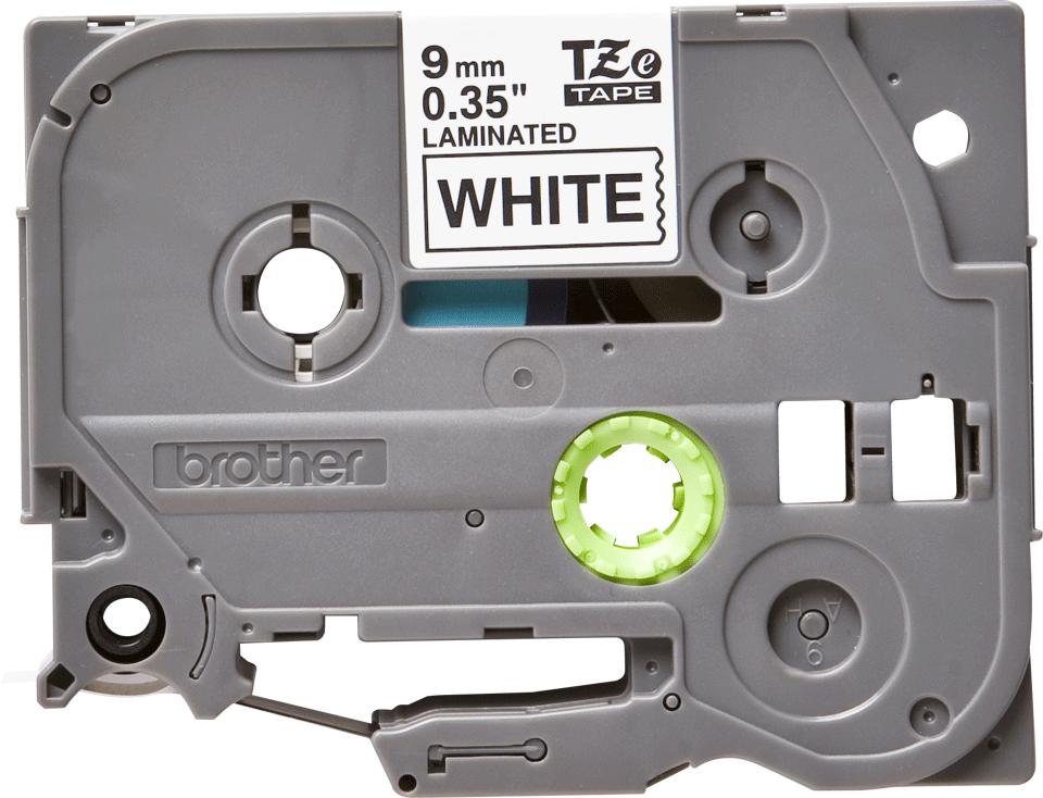 Ruban pour étiqueteuse TZe-221 Brother original – Noir sur blanc, 9mm de large 0