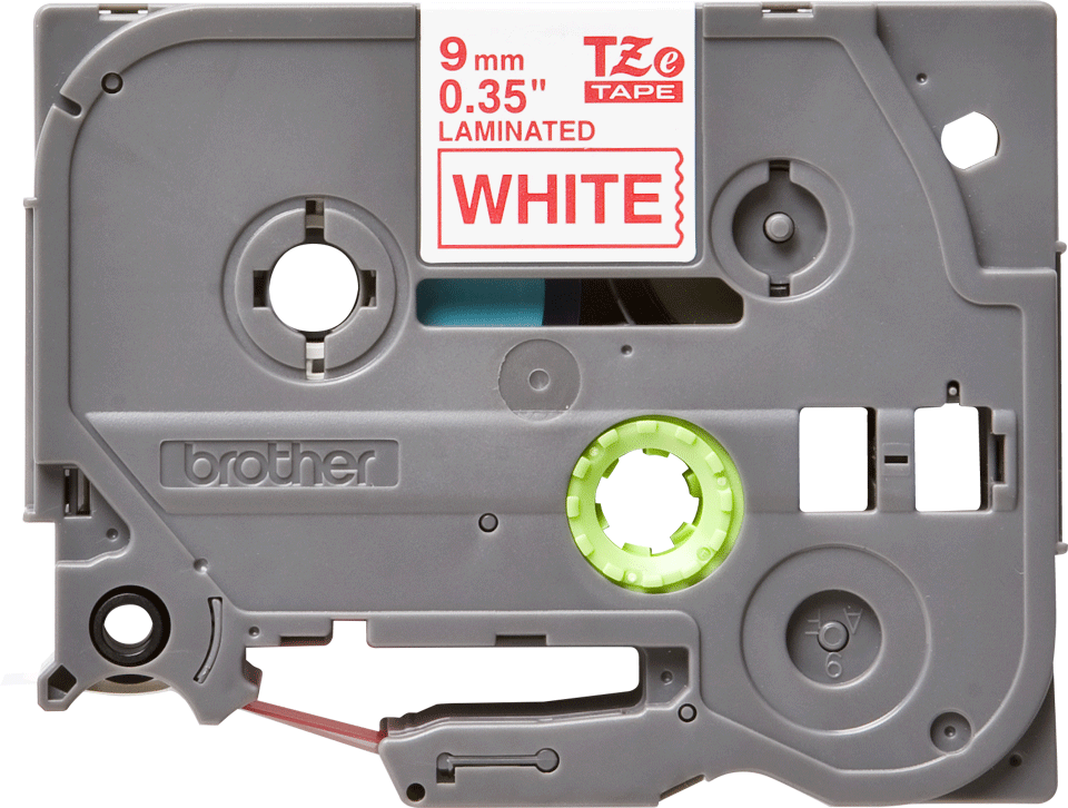 Cassette à ruban pour étiqueteuse TZe-222 Brother originale – Rouge sur blanc, 9 mm de large 2