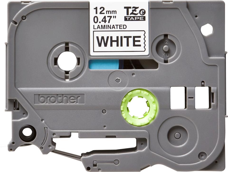 Cassette à ruban pour étiqueteuse TZe-231 Brother originale – Noir sur blanc, 12mm de large 2