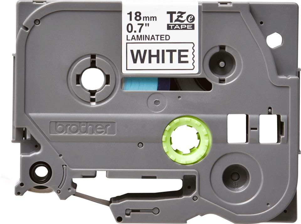 Cassette à ruban pour étiqueteuse TZe-241 Brother originale – Noir sur blanc, 18mm de large 2