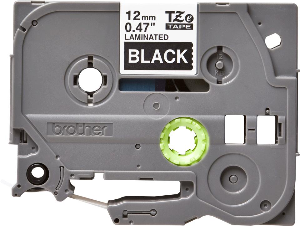 Ruban pour étiqueteuse TZe-335 Brother original – Blanc sur noir, 12mm de large 2