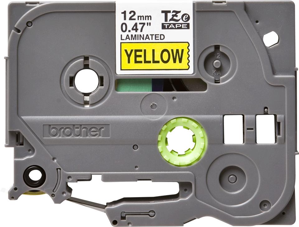 Ruban pour étiqueteuse TZe-631 Brother original – Noir sur jaune, 12mm de large 2