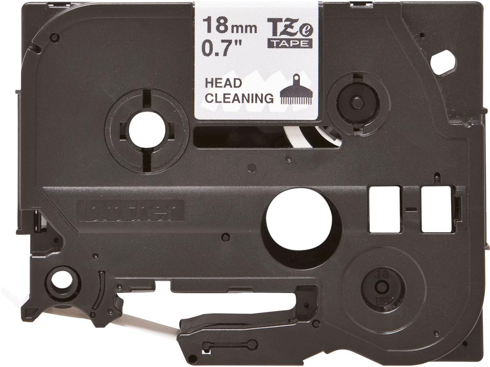 Cassette à ruban pour nettoyage de tête d'impression TZe-CL4 Brother originale – 18mm de large