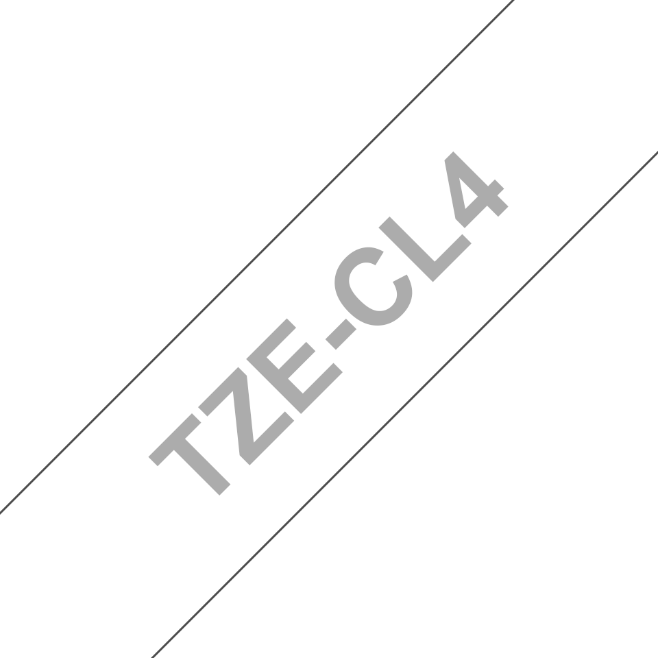 Cassette à ruban pour nettoyage de tête d'impression TZe-CL4 Brother originale – 18mm de large 3