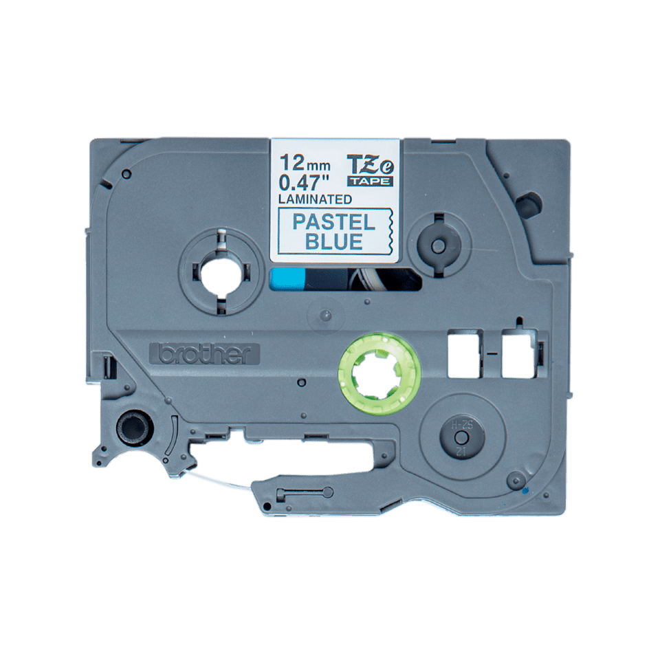 Cassette à ruban pour étiqueteuse TZe-MQ531 Brother originale – Noir sur bleu pastel, 12mm de large 0