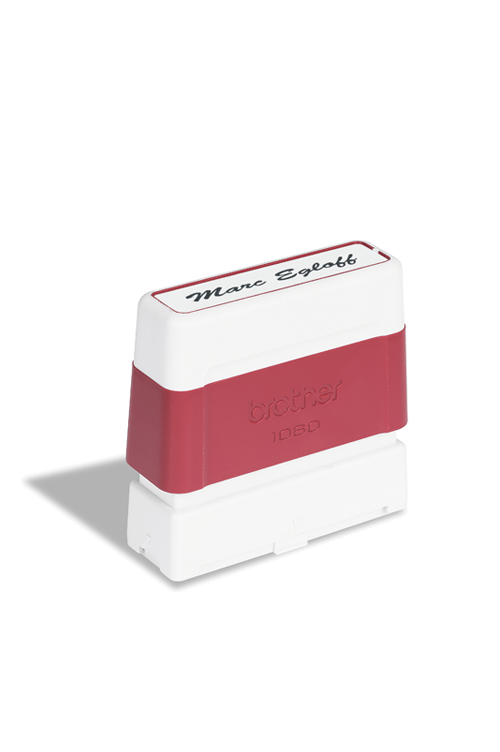 Tampon encore 10x60 mm rouge | Consommables originaux Brother