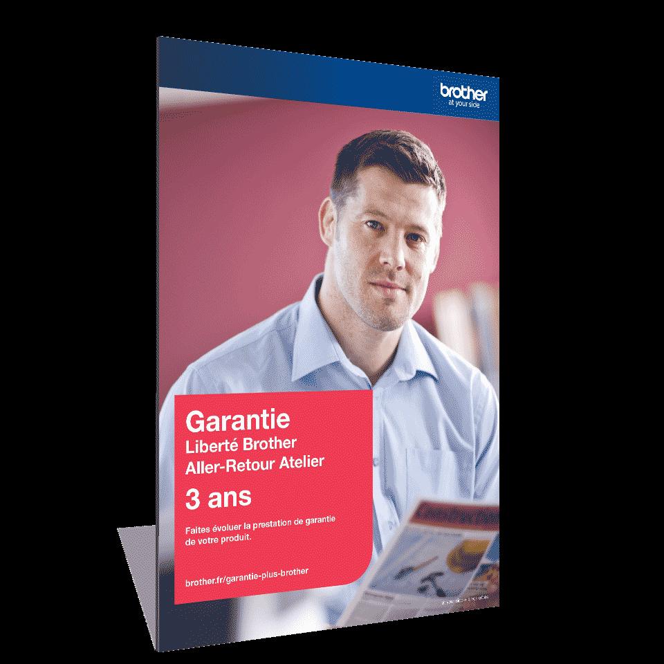 Garantie Plus Liberté Brother - Extension de garantie 3 ans Aller-Retour Atelier - GLIB3ARC