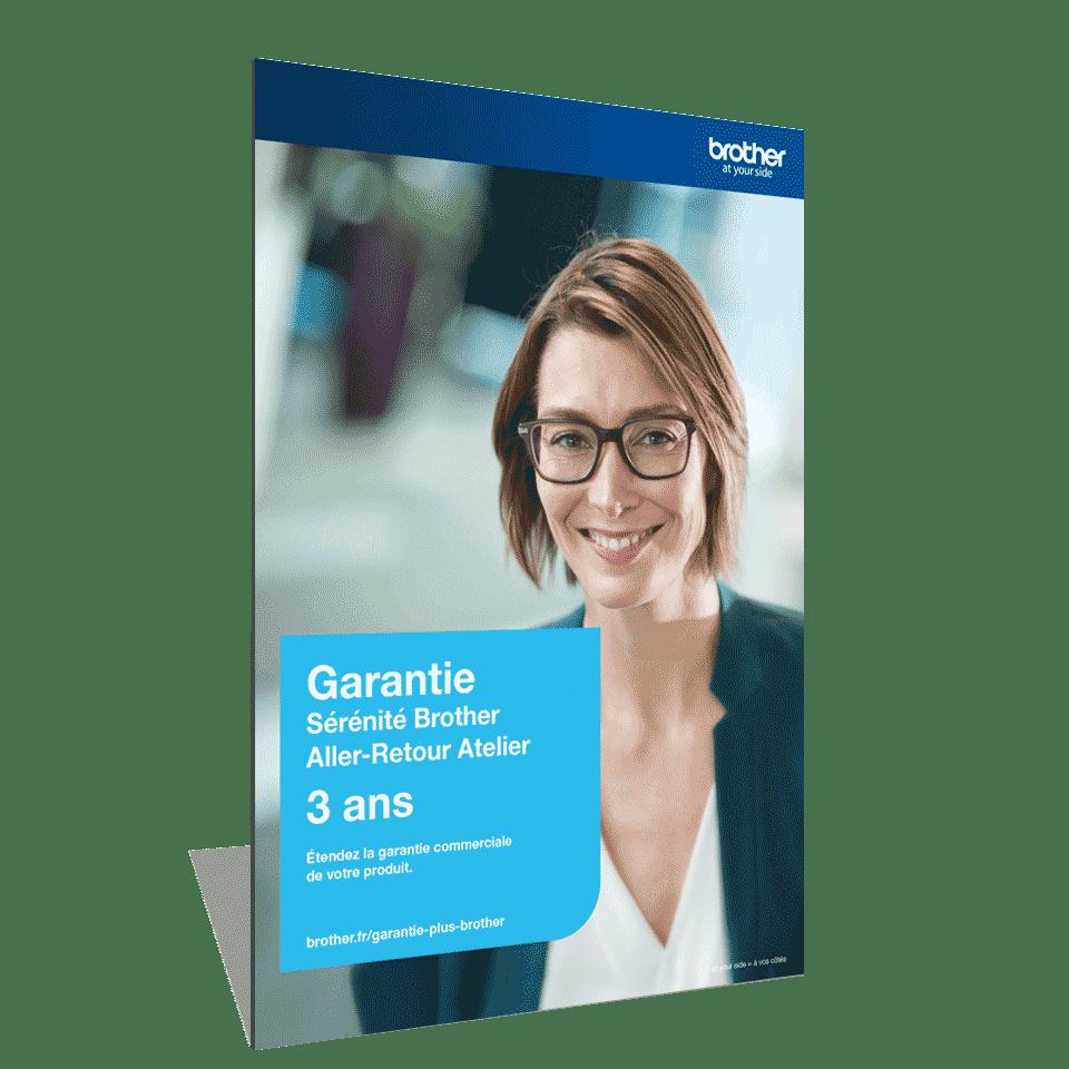 Garantie Plus Sérénité Brother - Extension de garantie3 ans Aller-Retour Atelier - GSER3ARB