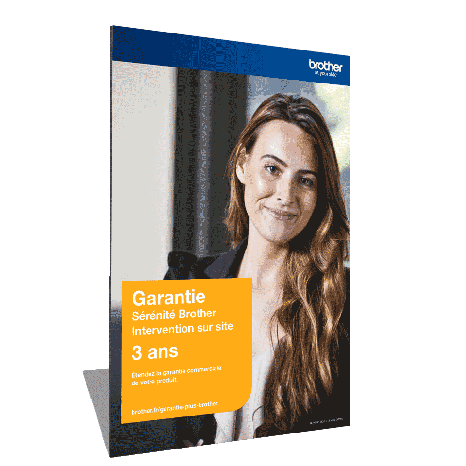 Garantie Plus Sérénité Brother - Extension de garantie 3 ans Intervention sur site - GSER3ISC