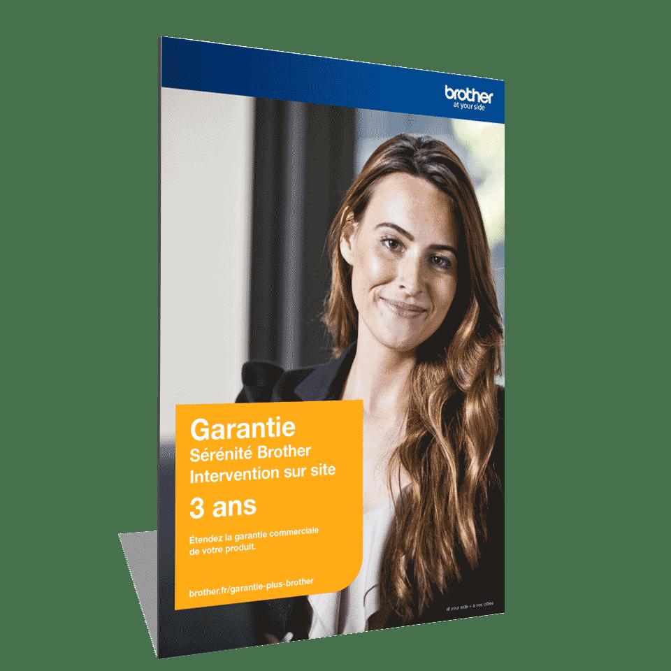 Garantie Plus Sérénité Brother - Extension de garantie3 ans Intervention sur site - GSER3ISE