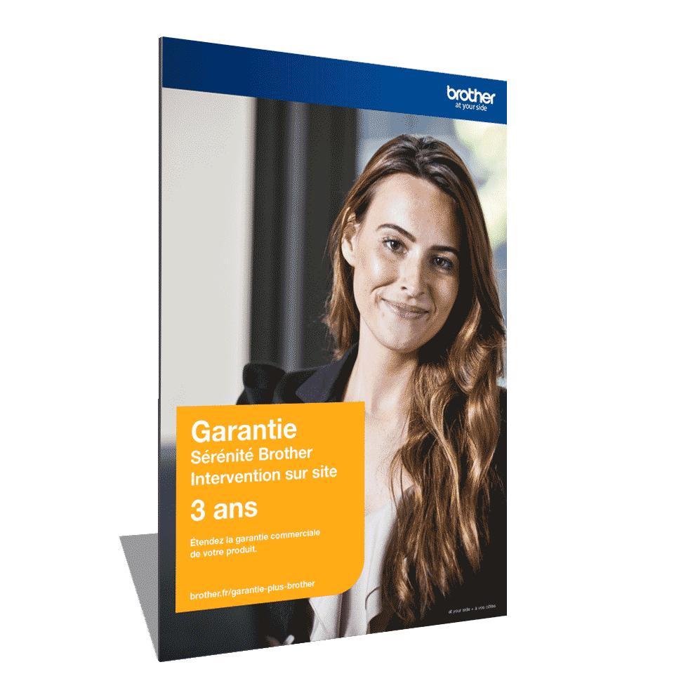 Extension Garantie Plus Sérénité Brother - Intervention sur site - 3 ans - GSER3ISE
