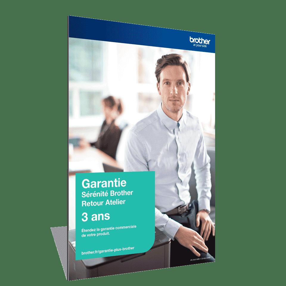 Extension Garantie Plus Sérénité Brother - Retour Atelier - 3 ans - GSER3RAB