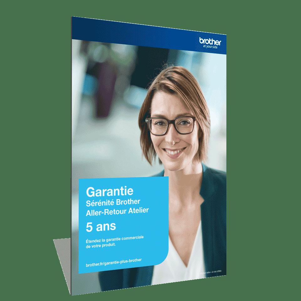 Extension Garantie Plus Sérénité Brother - Aller-Retour Atelier - 5 ans - GSER5ARA