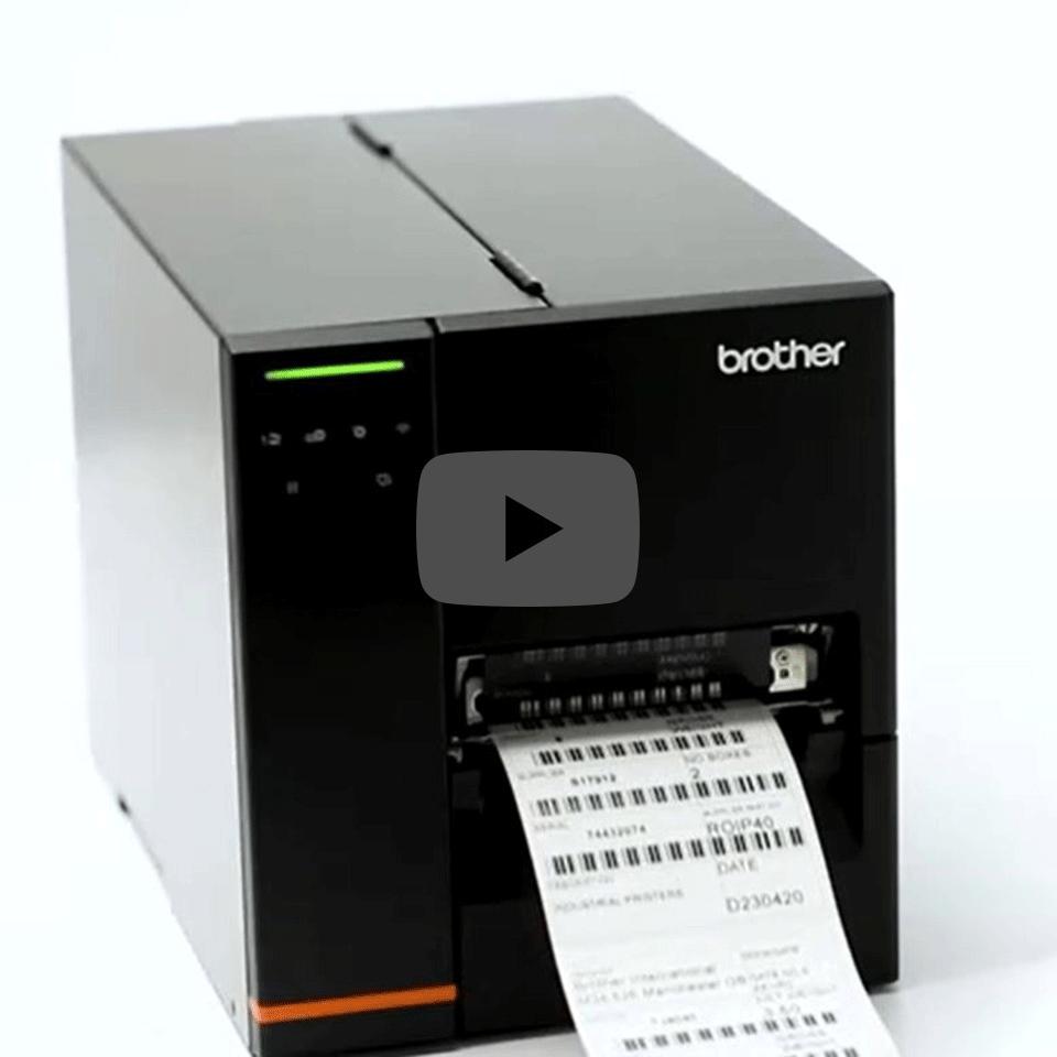 TJ-4021TN Imprimante d'étiquettes industrielle 5