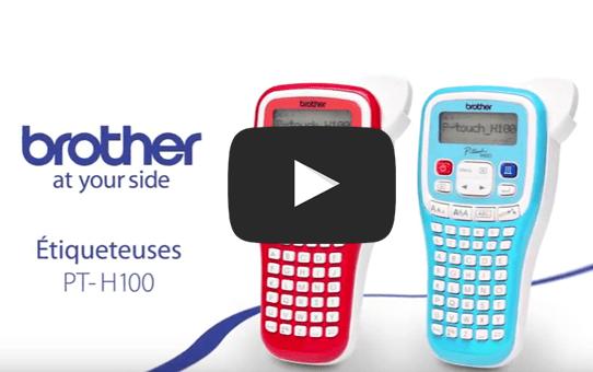 PT-H100LB étiqueteuse, titreuse P-touch bleue 4