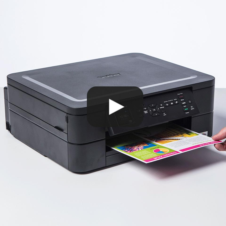 Imprimante jet d'encre couleur 3-en-1 sans fil DCP-J572DW 8