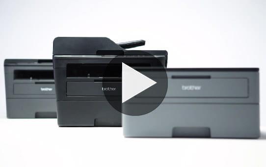 HL-L2350DW Imprimante laser monochrome compacte WiFi  7