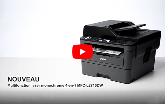 MFC-L2710DW Multifonction laser monochrome 4-en-1 compact, réseau et WiFi  8