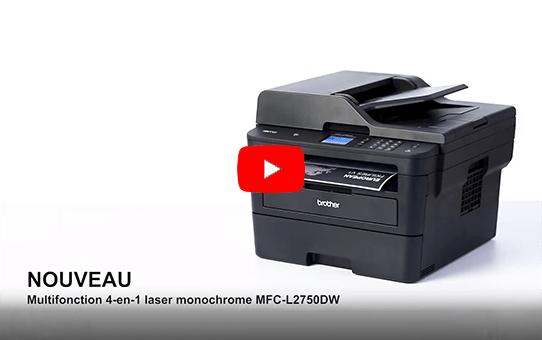 MFC-L2750DW Multifonction laser monochrome 4-en-1 compact, réseau, WiFi et NFC   8
