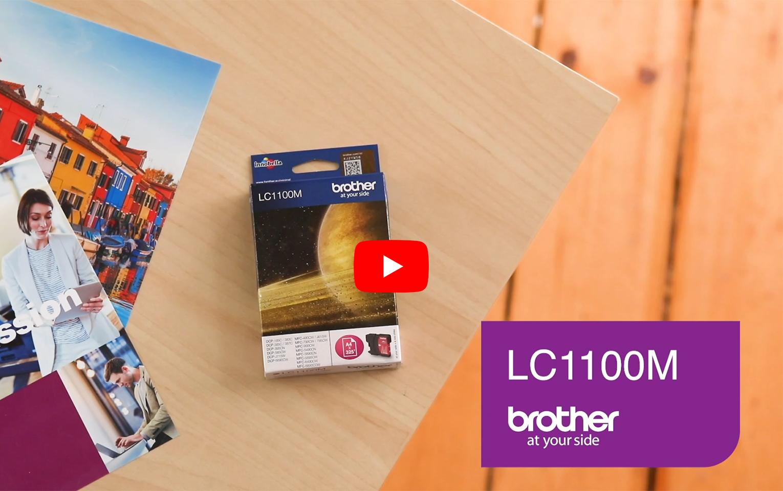 Cartouche d'encre LC1100M Brother originale – Magenta 5