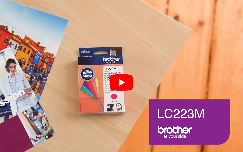 Cartouche d'encre LC223M Brother originale – Magenta 5